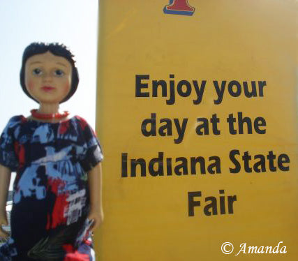Hitty at the Indiana State Farm