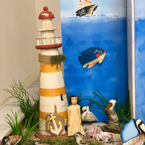 Nautical Exhibit at the Library