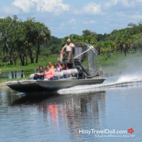 Air Boat Rides at Billie Swamp Safari