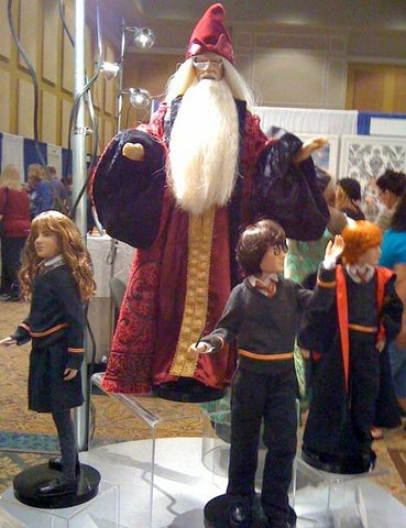Harry Potter Dolls at the 2011 IDEX