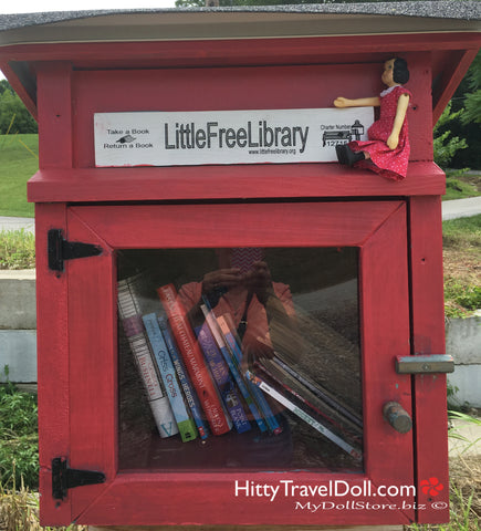 The Little Free Library Milwaukee Trail Bedford Indiana