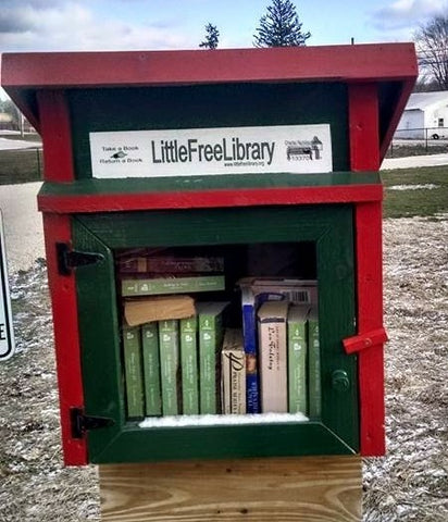 Little Free Library Scout Troup 343 Sprinville Indiana