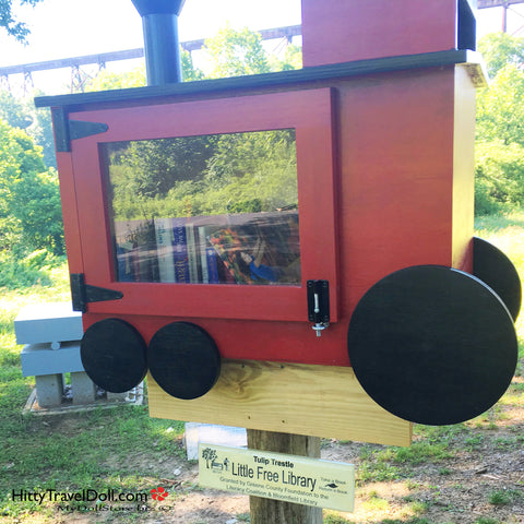 The Tulip Trestle Little Free Library