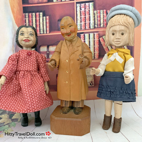 Nat Cooper Hitty Mr Geppetto Craftech Hitty Doll