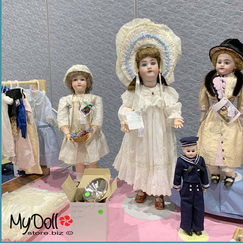 Antique Dolls at the Port Charlotte Doll Show