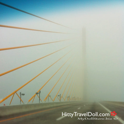 Early Morning Mist on the Sunshine Skyway Bridge