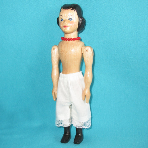 Doll Pantaloons for Slim Hitty Doll