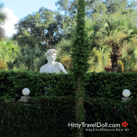 Statue of David St Augustine Florida