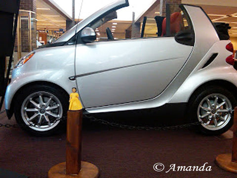 Hitty with a Smart Car