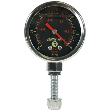 SVac Glycerine FilledVacuum Gauge for our Chamber Lids Only