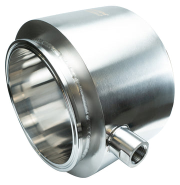 Jacketed 304SS Sanitary Tri-Clamp Spool