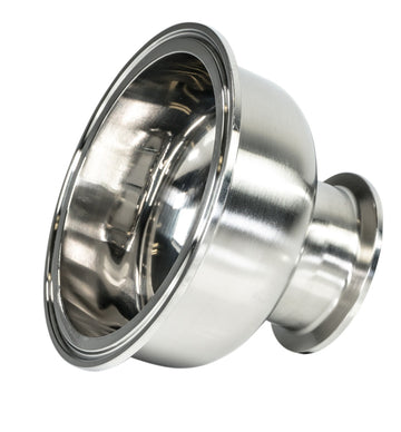 Hemispherical Sanitary Stainless Steel Tri-Clamp Reducer & Fitting