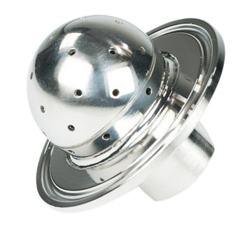 "1/4"" Female NPT Sanitary Tri-Clamp End Cap with Spray Ball"