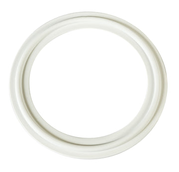 White BUNA Tri-Clamp Gasket