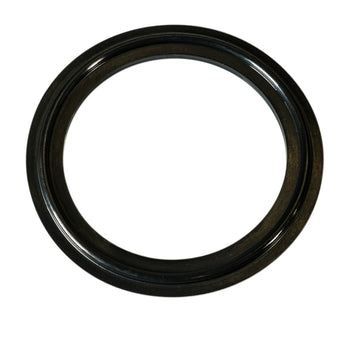 Black Flanged BUNA Tri-Clamp Gasket