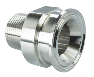 316L Tri-Clamp x Male NPT Adapter