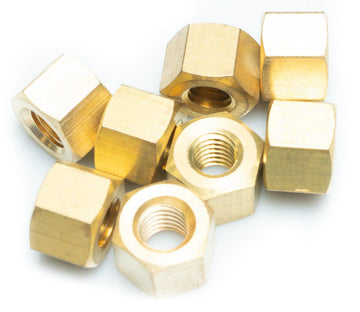 Brass Replacement Nuts for High Pressure Double Bolted Clamp