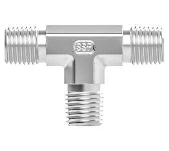 SSP True Fit - Threaded NPT Male Tee Fitting
