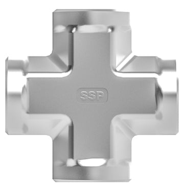 SSP True Fit -  Threaded NPT Cross Pipe Fitting