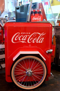 Coca-Cola Cooler Bike - Circa 1950