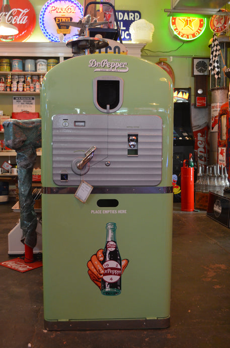 Dr. Pepper Soda Machine - Circa 1948