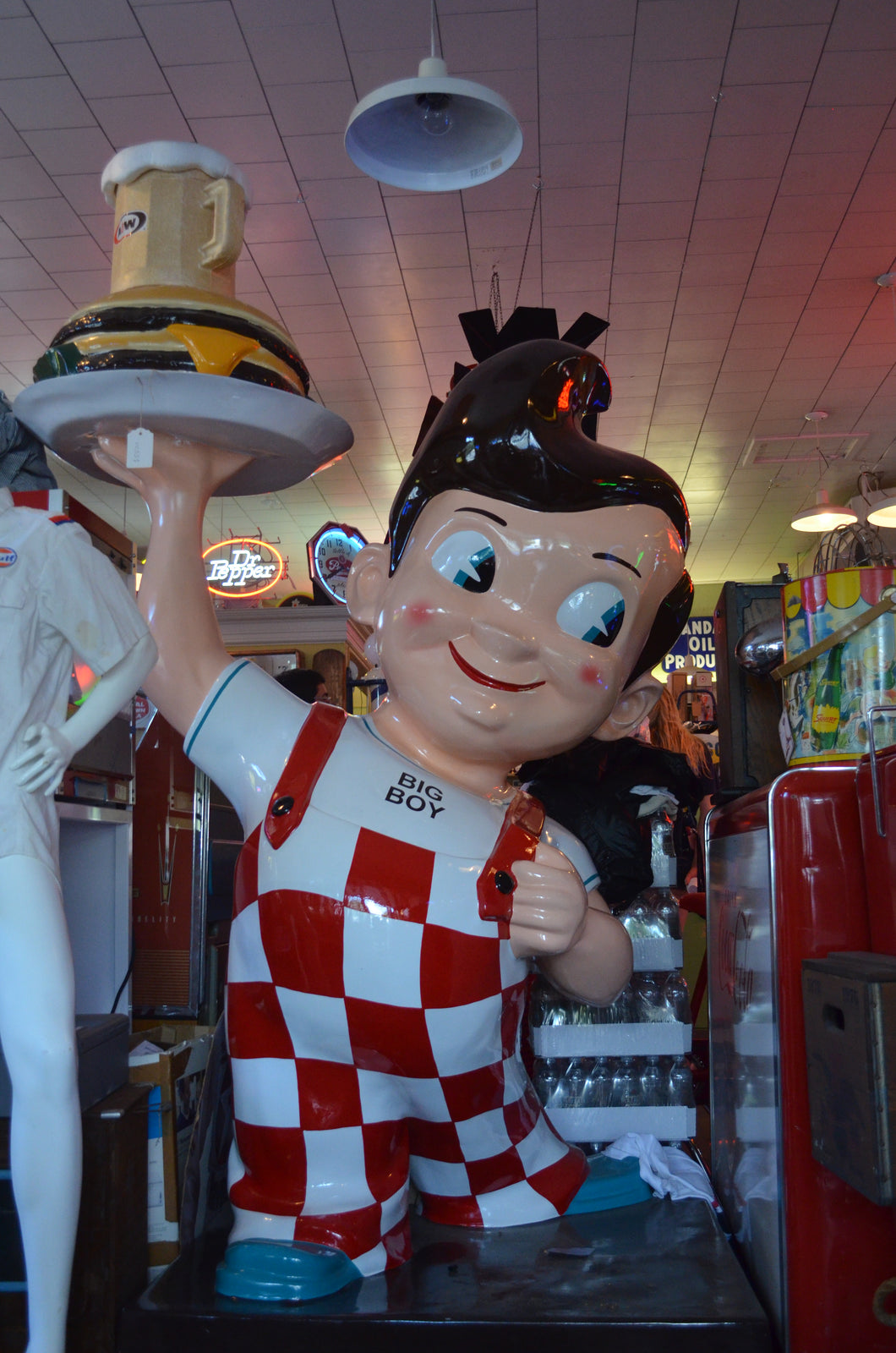 Authentic Big Boy Mascot