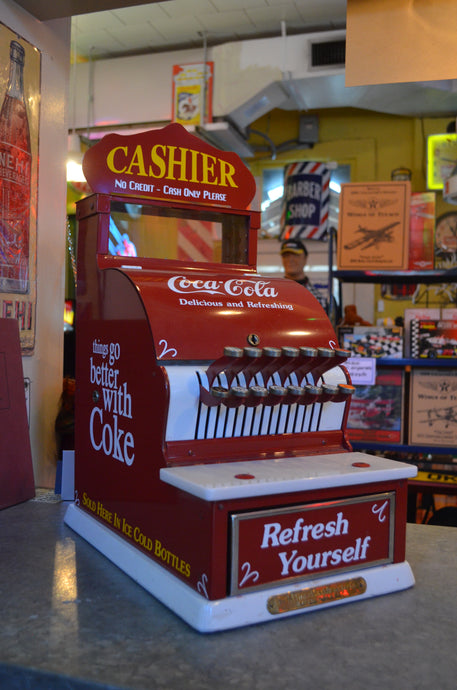 Coca-Cola 1920's Cash Register