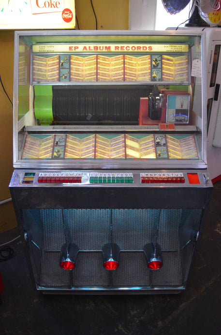 1957 Seeburg Select-o-Matic Jukebox 200 Selector