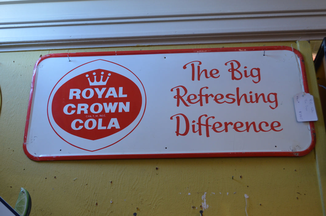 Rare RC Cola Tin Sign