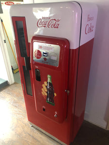 1955 10 cent Coca-Cola Soda Machine