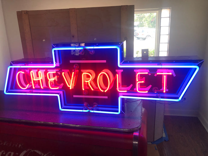 Chevrolet Neon Heritage Sign