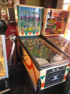 1966 Coin Kicker Pinball Machine