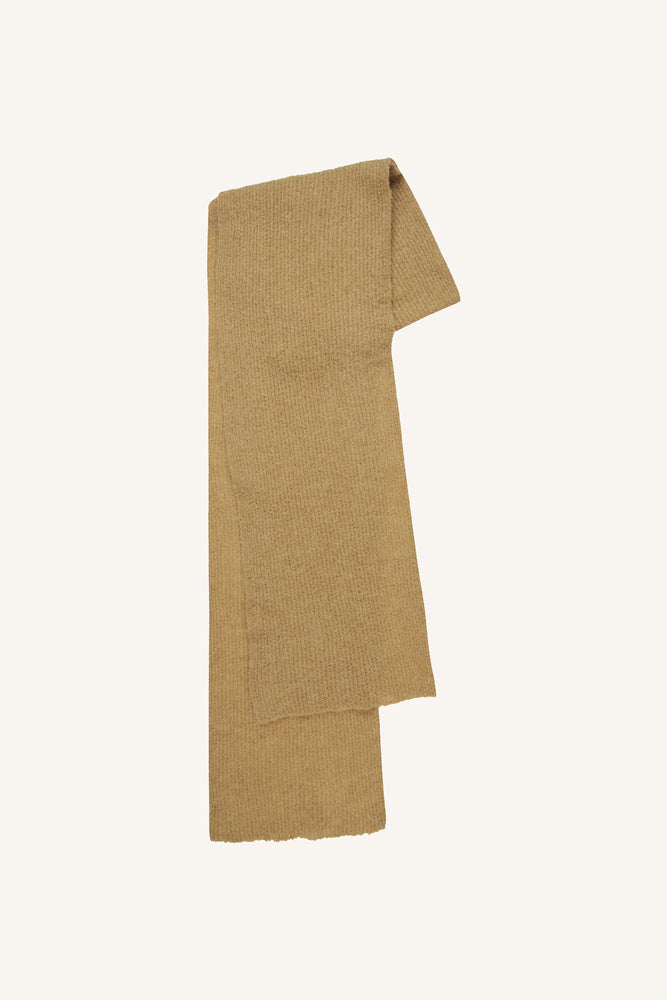Golden Knit Scarf Pine