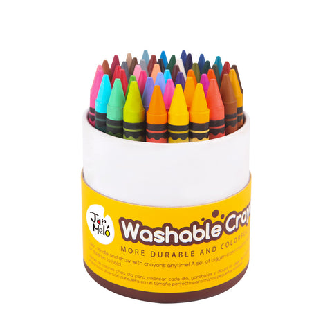 Washable Crayons - 48 Colours
