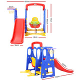 """3-in-1"" Slide & Swing Play Set"