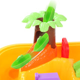 Jungle Kids Table & Chair Sandpit Set