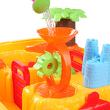 Jungle Kids Table & Chair Sandpit Set Water fun