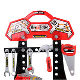 Toolshop Workbench Play Set - Red Spanners