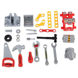 Toolshop Workbench Play Set - Red Tools