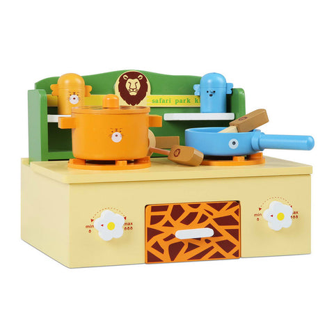 Zoo Themed Kitchen Stove Play Set