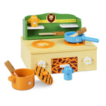 Zoo Themed Kitchen Stove Play Set Close Up