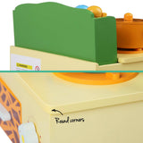 Zoo Themed Kitchen Stove Play Set Timber