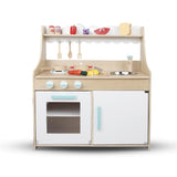Kitchen Play Set - Natural & White Front View