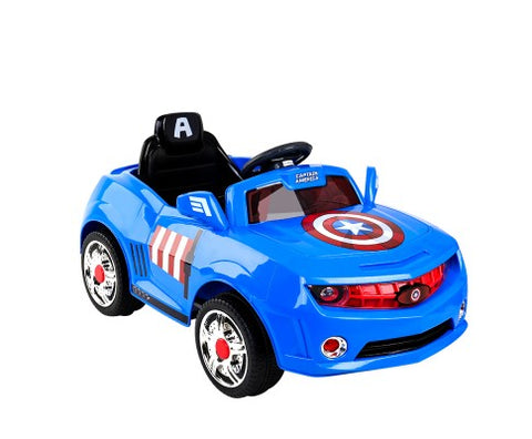 Captain America Ride on Car