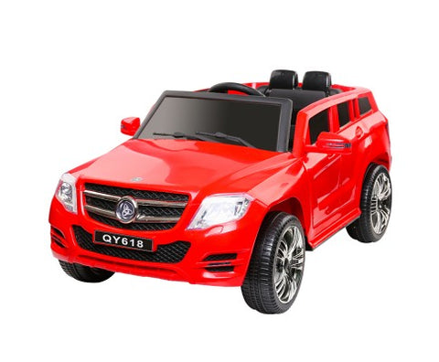 Kids Ride On Mercedes Benz ML450 in GoFast Red