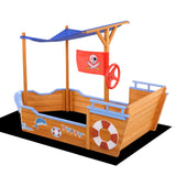 Pirate Sand Pit With Canopy