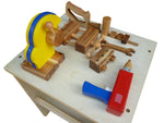 Pretend Play Wooden Work Bench Drill and Glue Gun