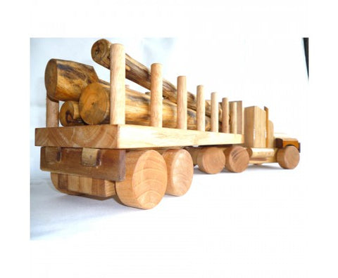 Timber Play Log Truck