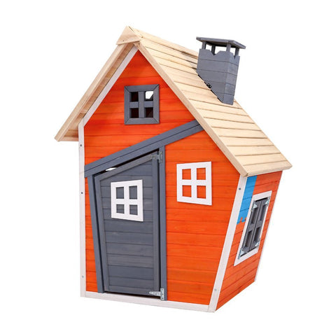 Kids Cubby House Wooden Outdoor Playhouse Childrens Toys Party Gift