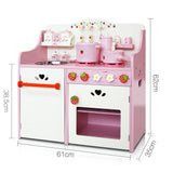 Kitchen Pretend Play Set - Pink